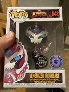 Funko Pop Venomized Ironheart Chase 842 Ships In Protector Piab Exclusive
