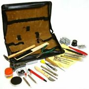 143 Watch And Clock Repair Tools And Storage Case