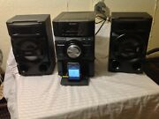 Sony Mhc-ec69i Mini Hifi Component Stereo System Cd Player Ipod Dock Tested