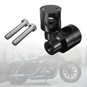 Round Handlebar Risers For Harley King Touring Grips Motorcycle Accessories