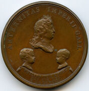 Louis Xiv Birth Of Duke Of Anjou 10 December 1683 Medal By Mauger