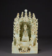 A Fine Collection Of Chinese Antique 16thc Qing Yingqing Porcelain Kwan-yin