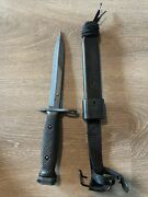 Ontario M7 Military Collectible Knife With Case Us Militaria
