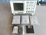 Tektronix Tds3034 300mhz Dpo Color W/4x 300mhz Probes And Fft Adv. Trig. Tested