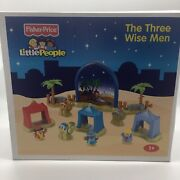 Fisher Price Little People Three Wise Men Nativity Set N6011 New In Sealed Box