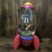 Toy Story Space Crane Snow Globe Limited To 2500 Pixar 240andtimes140andtimes110mm Japan 33