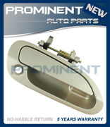 Door Outside Handle Beige Front Right Replacement For 98-02 Honda Accord