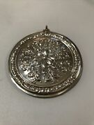 2002 Towle Old Master 60th Anniversary Sterling Silver Christmas Ornament