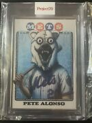 Topps Project 70 355 - Pete Alonso By Alex Pardee - Artist Proof 34/51 In Hand