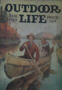 Extremely Rare Vintage August 1915 Outdoor Life Magazine