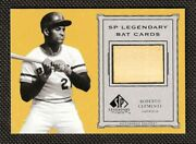 Roberto Clemente ⭐ 2001 Ud Sp Legendary Cuts Game Used Bat Relic Non Auto Nice 1