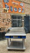 Blue Seal Evolution Cooktop Griddle Electric 90 Cm E516-ls3 Phase Flat Grill