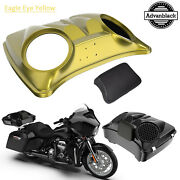 Eagle Eye 8and039and039 Speaker Lids For Advanblack/harley Chopped Tour Pak Pack