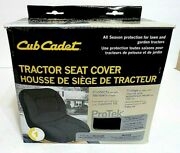 New Cub Cadet Universal Mower Garden Tractor Seat Cover With Storage Pockets