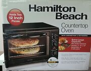 Hamilton Beach Countertop Oven With Convection And Rotisserie, 31101d Free Shipp