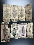Andldquo Old Andldquo Us 18th Century Paper Money Lot Of 8 4 1 2 10 And 2 20