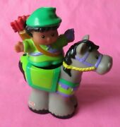 Fisher Price Little People Woodsman Robin Hood Castle And Carriage Horse Kingdom