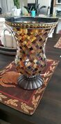 Partylite Global Fusion Hurricane 12 Candle Holder P8366