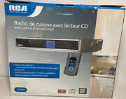 Rca Under Cabinet Kitchen Radio With Cd Player And Mp3 Open Box Sps3600