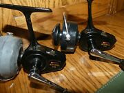 Vintage Garcia Mitchell 320 Spinning Reels, Made In France, Smooth Retrieve,vg