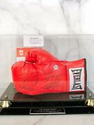 Ali, Frazier, Foreman, Tyson, Mayweather Signed Boxing Glove Authentic 1 Of 50