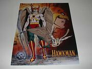 Dc Comics Justice League Of America Hawkman Poster Pin Up New