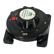Battery Selector Switch Replaces 300a 4 Position For Marine Boat Camping