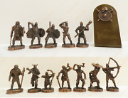Vikings Soldier Set Toy Collection Soldier 40mm Landrin Rare