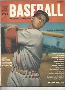 1952 Street And Smith's Baseball Yearbook Magazine Stan Musial St. Louis Cardinals