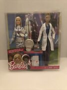Barbie Astronaut And Space Scientist Doll Set- Factory Sealed Please Read