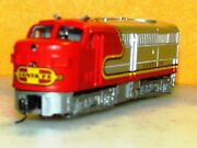 Alco Fa-2 Diesel Loco In Atandfs Road Name N Scale By Mehano New Knuckle Couplers