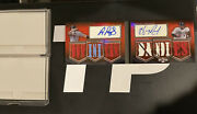 2010 Topps Triple Threads- Albert Pujols And Hanley Ramirez Auto And 6 Patch 05/18