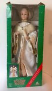 Vintage Holiday Creations 1996 Animated Christmas Angel Figure- Works + In Box