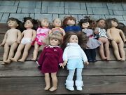American Girl Dolls And Pleasant Company Lot Of 10 Some Retired/ Sold As-is