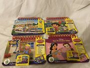 Lot Of 3 Leap Frog My First Leap Pad Game Cartridges Books Preschool Ages 3 Up