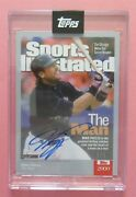 2021 Topps X Sports Illustrated Mike Piazza Auto 1/1