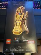 Lego Marvel Infinity Gauntlet 76191 Collectible Building Kit Thanos In Hand