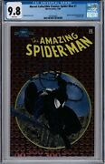 Marvel Collectible Classics Spider-man 1 Andnbspchromium Cgc 9.8 Nm/m White Pages