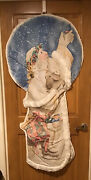 Daisy Kingdom Father Christmas Fabric Door Panel Sandi Gore-evans, Completed