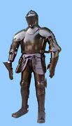 Collectible Knight Full Body Armor Suit Halloween Office/home Decor Item Replica