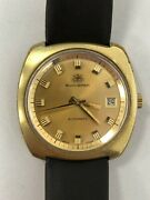 Vintage Bucherer Automatic Wrist Watch / Very Rare / Collectible / 25 Jewels
