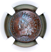 1888 Ms65 Bn Ngc Indian Head Penny Premium Quality Superb Eye Appeal