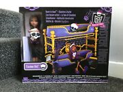 Bnib 2011 Monster High Clawdeen Wolf Room To Howl Bunk Bed And Dead Tired Doll