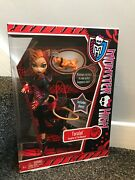 Bnib 2011 Monster High Toralei Doll Pet Sweet Fangs And Diary Schoolandrsquos Out 1st W