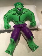2002 Marvel The Hulk Vintage Inflatable Collectible Display Rare Great Condtion