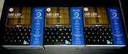 Ge 100 Led 8 In 1 Dual Color C-5 Net-style Lights 5ft X 4ft 1041105 4 Box Nib