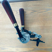 Antique Elect Band Swage Buzz Saw Tooth Swaging Tool Setting Sharpening Sawmill