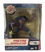 Bakugan Deluxe Monster And Figure Set Preyas And Marucho Series 1 Toys R Us 2008