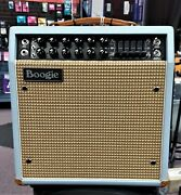 Mesa Boogie Mark V 25 Combo 1x10 Baby Blue Bronco With Creme White Front Guitar