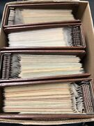 Lot Of 900+ Golden 24 Karat Replicas Of Us Stamp Fdc - All Addressed 27 Albums
